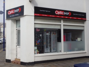The Optic Shop Porthcawl Front View