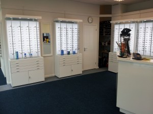 The Optic Shop Porthcawl Inside View