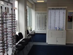 The Optic Shop Porthcawl Inside View angle