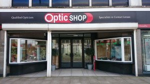 The Optic Shop Swansea Branch Front