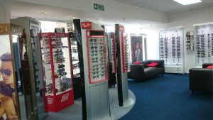 The Optic Shop Swansea branch inside store image